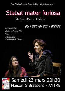 STABAT MATER FURIOSA @ Salle Georges Brassens